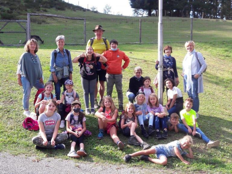 Gruppenfoto Auflug Heigenbrücken