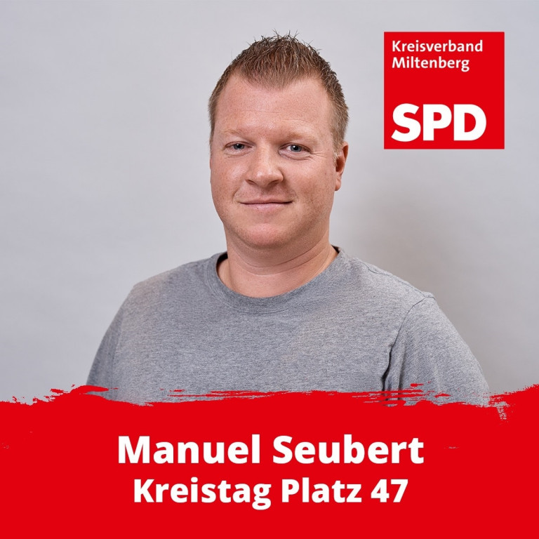Kreistagskandidat Manuel Seubert