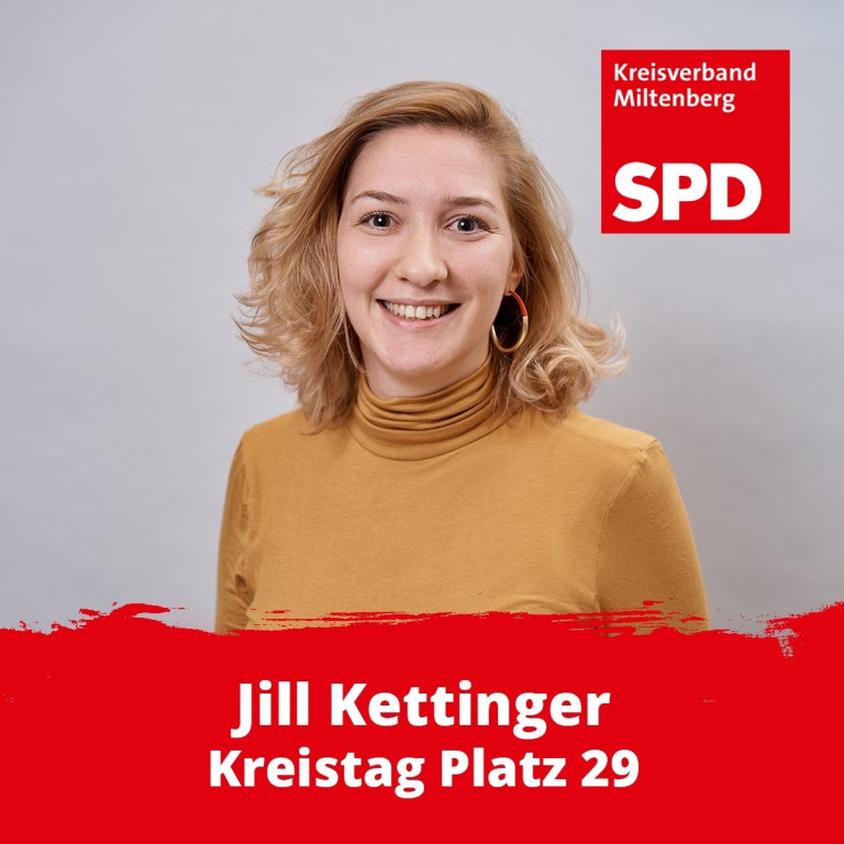 Kreistagskandidatin Jill Kettinger